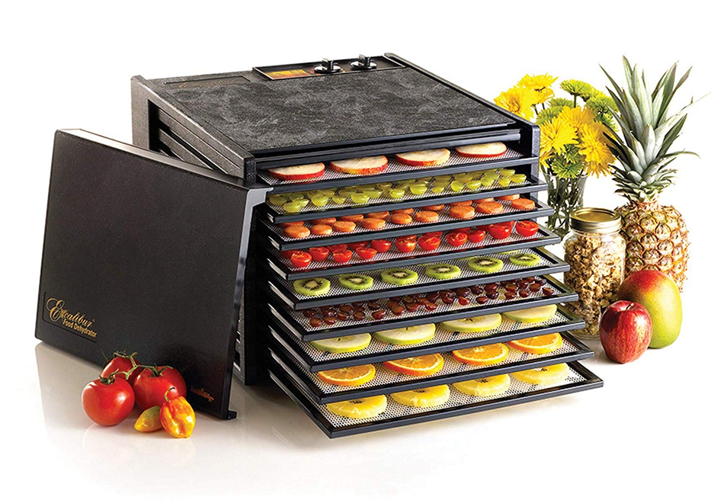 Excalibur 3926TB Nine Tray Electric Food Dehydrator