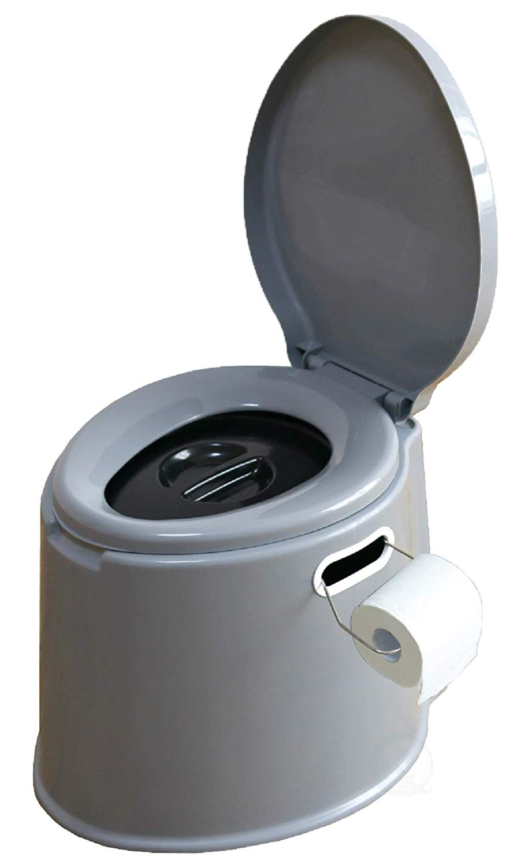 Basicwise Portable Travel Toilet