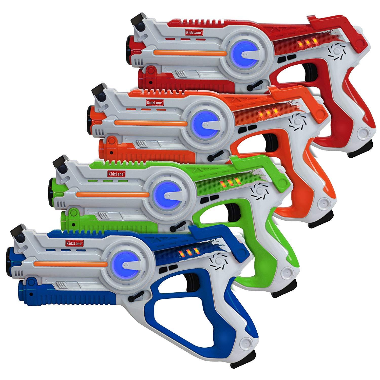 Kidzlane Infrared Laser Tag Set of 4 Guns