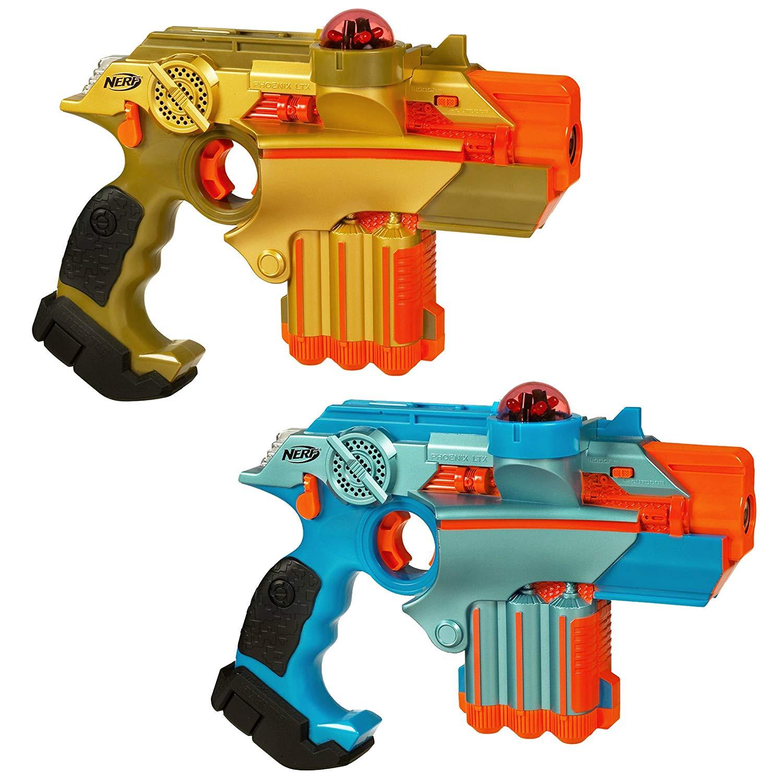 Nerf Lazer Tag Phoenix LTX Tagger Set of 2