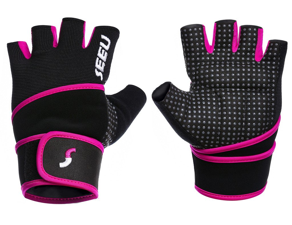 SEEU Crossfit Weight Lifting Gloves